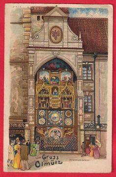Olomouc - starý orloj Architecture, Czech Republic, Big Ben, Taj Mahal, Photos, Tours, Building, Travel, Prague
