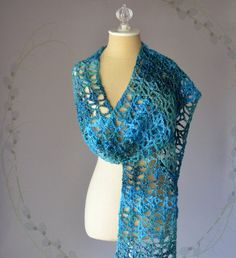 Free Crochet Pattern: Swift Current Scarf