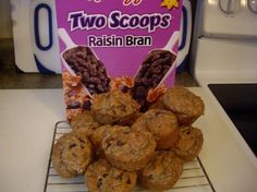 Raisin Bran Cereal Healthy Muffins. Add more raisins and 5 teaspoons of cinnamon. Substituted 1/2 oil for applesauce and whole wheat four. Lynn