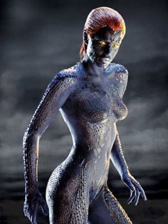 the best special FX in the Xmen franchise!   how to get a naked blue women in to a PG movie haha