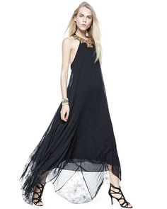 Alice + Olivia Ravi Embellished-Neck Dress