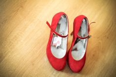 my red wedding shoes <3