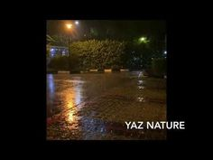 Raining in the night, rain sound helps in relaxation, insomnia, deep sleep and study - YouTube