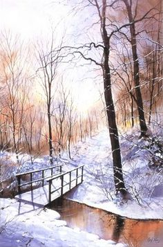 Perspective Depth and Distance | Watercolour Journey by Ian McKendrick - Perspective Depth and Distance by Geoff Kersey