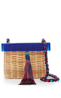 Betina Blue Bag by WAIWAI for Preorder on Moda Operandi