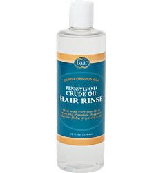 Baar Products Crude Oil Hair Rinse is a conditioning rinse that invigorates the scalp and leaves hair smelling fresh and clean. Formulated for use after the Baar Pennsylvania Crude Oil Hair and Scalp Treatment.