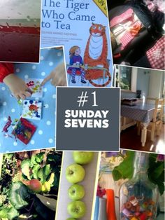 Mudlarks and Magpies: Sunday Sevens - #1