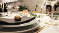 Lausanne, Table Settings, Table Decorations, Invitation, Home Decor, Noel, Christmas Tabletop, Projects, Decoration Home