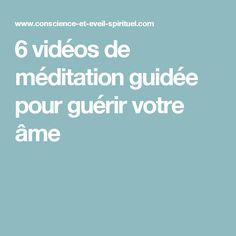 6 vidéos de méditation guidée pour guérir votre âme Easy Meditation, Meditation Techniques, I Feel Good, Tai Chi, Relax, Positivity, Motivation, Feelings, Health