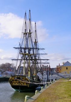 """Friendship of Salem"", replica of the historic ship"