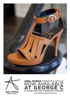 Proudly celebrating seven successful seasons at george c. The Abel Munoz Spring\Summer 2012 collection is now available at www.georgec.ca