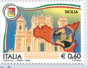 Sicily stamp