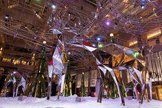 Striking Christmas decorations at The Landmark HongKong.  Design and arts installation by Hanns-Martin Wagner. 2013 Hong Kong Landmark Xmas Decor (hkdigit-20131120-185551) (from Hong Kong Photo Gallery)