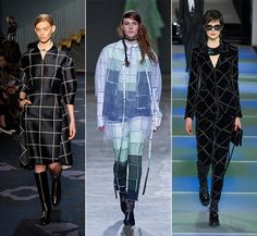 Fall/ Winter 2014-2015 Print Trends: Geometric Thin Lines  #trends #fashion #prints