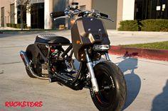 honda ruckus modified   HONDA RUCKUS CUSTOM SCOOTER   Flickr - Photo Sharing!