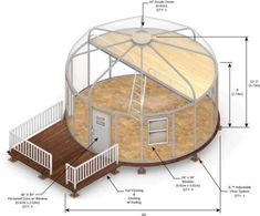 Yurt Fabric Building Series | Glamping