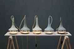 Lamp IdeeAl van beton
