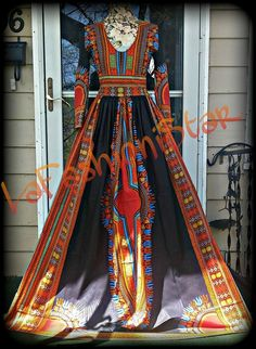 8c1cfdd11720a African Print Dashiki Gown from LFS Custom Boutique
