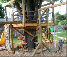 from www.alittlesomethingforme.com tree house