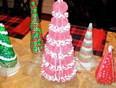 candy christmas trees.