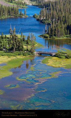Twin Lakes, Ansel Adams Wilderness on Mammoth Mountain, California
