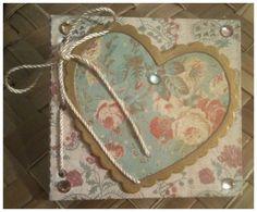 Mini Journal Handmade with Refill Sheets by alohacookiegirl, $8.00