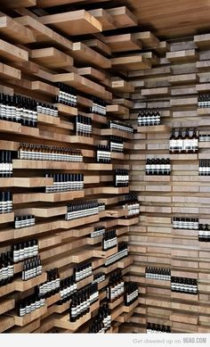 Creative store design..Can you imagine this in CVS???