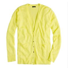 My yellow cardigan is shorter in the body with bigger buttons. The hue of it is also closer to mustard. It was a 'stretch your style' purchase in a colour I never normally wear.