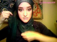 Hijab Tutorial #7 (Basic Double Wrap Hijab)