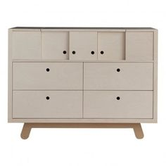 The Peekaboo Chest of Drawers from Kutikai is a considered, design led and functional piece and will compliment any modern nursery or contemporary children's bedroom design. Childrens Storage Furniture, Modern Nursery Furniture, Cama Junior, Childrens Wardrobes, Kid Beds, Chest Of Drawers, Kids Room, Dresser, Kids Nightstands