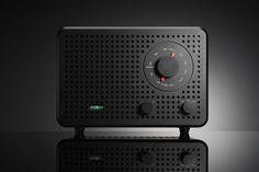 dieterrams: Jonas Damon, Creative Director by frog, was obviously inspired by Dieter Rams for his limited edition radio 2B. Beautiful!