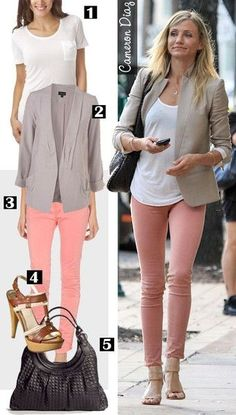 Cómo combinar los jeans de colores