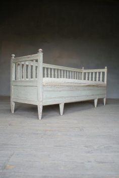 Swedish Bench at Anton & K decorative Antiques