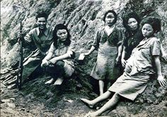 "Korean women were forced to become ""comfort women"" to Japanese troops. She was gang raped repeatedly. Then she became pregnant. But that would not stop the soldiers. They sat on her stomach to force the fetus out, and crushed it to pieces with their boots. Immediately after, they continued to take turns to rape her. The comfort women were forced to have sex with the Japanese troops."