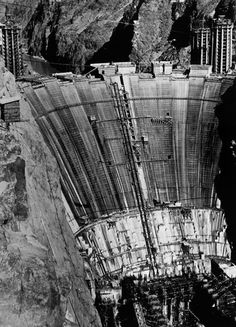 Hoover Dam, circa 1931 Hoover Dam Construction, Under Construction, Zion National Park, National Parks, Las Vegas, Zion Canyon, Lake Mead, Historical Images, Vintage Pictures