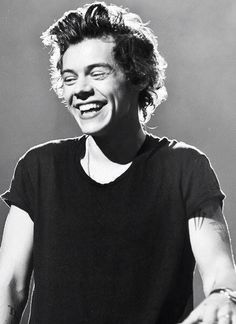Harry Styles and his beautiful smile
