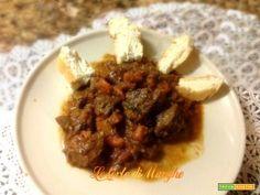Stufato di manzo affogato al barolo  #ricette #food #recipes