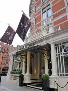 Connaught Hotel. Stopped here twice May, 2011. Wanted to see it after Kate Middleton and family made it their hotel for the wedding just weeks before! Very cozy!