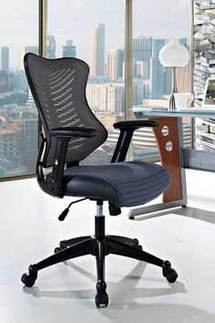 Clutch Office Chair with Mesh Back and Seat - Gray by Modway on @HauteLook