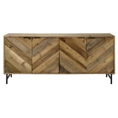 Recycled pine sideboard W 175cm