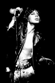 Mick Jagger live w/ Rolling Stones, 1970's ✖️🎶✖️