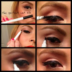 How-To: The PerfectCat-Eye--Polish and Pout