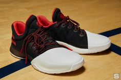 45a1a7bc2cda The long-awaited James Harden Adidas signature shoe has finally been  unveiled.