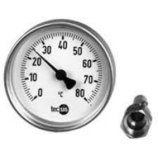 bimetaal - elektronische temperatuursensor die op de temperatuur reageert