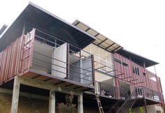 Eco container home