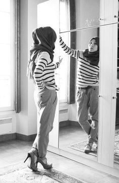 stripes hijab fashion Hana Tajima.jpg