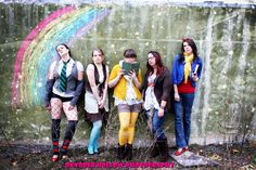 ©Oktober Hollow Photography. Fairy Tale Hipsters. Can you name them? SHARE/REPIN/LIKE!!!!