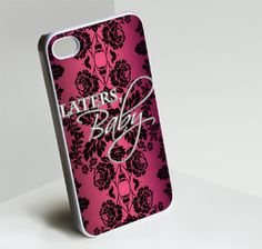 Later Baby pink - Customized iPhone 4/4S