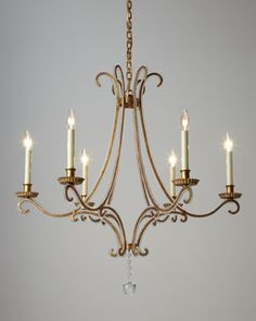 Oslo+6-Light+Chandelier+by+Visual+Comfort+at+Neiman+Marcus.