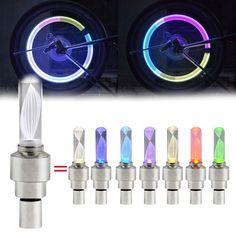 2016 Vélo Lumière Nouvelle Lumière De Bicyclette 1 Pcs Roue de Bicyclette Tire Valve de Vélo Accessoires Vélo Led Vélo Accessoires Lumière